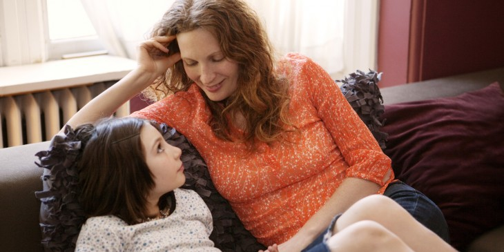mother and daugther  counseling about life